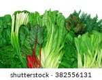 Various Green Leafy Vegetables...
