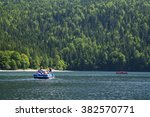 people enjoying nature in a... | Shutterstock . vector #382570771