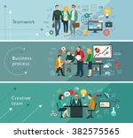 business people group over...   Shutterstock .eps vector #382575565