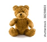 Classic Teddy Bear Isolated On...