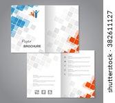 vector modern brochure ...   Shutterstock .eps vector #382611127