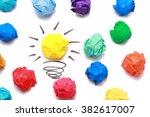 Yellow Paper Ball Light Bulb...