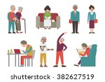 vector illustration character... | Shutterstock .eps vector #382627519