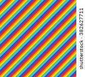 seamless rainbow color diagonal ... | Shutterstock .eps vector #382627711