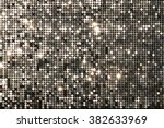 Silver Background Mosaic With...