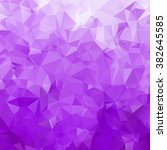 abstract triangle violet... | Shutterstock .eps vector #382645585