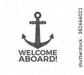 nautical design. sailor vector