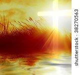 Marram Grass With A Christian...