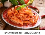 Penne Pasta With Hot Chili...