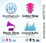 Set Of Vector Music Logo. Musi...