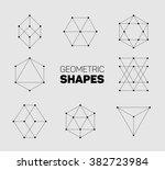 vector abstract regular... | Shutterstock .eps vector #382723984