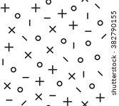 universal vector fashion... | Shutterstock .eps vector #382790155