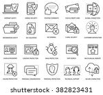 computer security and web...   Shutterstock .eps vector #382823431