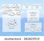 template corporate identity... | Shutterstock .eps vector #382825915