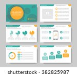 infographics for leaflet  flyer ... | Shutterstock .eps vector #382825987