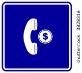 Coin Operated Telephone Sign
