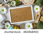 spa treatment concept  there is ... | Shutterstock . vector #382868401