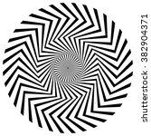 abstract circular  spiral...   Shutterstock . vector #382904371