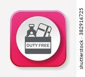 duty free icon  | Shutterstock .eps vector #382916725