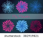 decorative floral background...