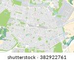 vector city map of tilburg ... | Shutterstock .eps vector #382922761