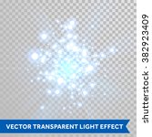 vector firework blaze sparks...   Shutterstock .eps vector #382923409