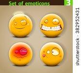 vector set of different... | Shutterstock .eps vector #382952431