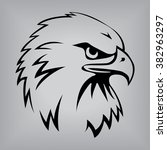 eagle head | Shutterstock .eps vector #382963297