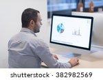 startup business  software... | Shutterstock . vector #382982569