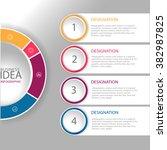 infographics. vector... | Shutterstock .eps vector #382987825