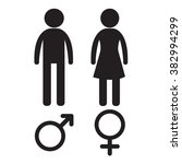 man and woman people icon... | Shutterstock .eps vector #382994299
