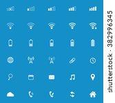 modern gadget web icon set ....   Shutterstock .eps vector #382996345