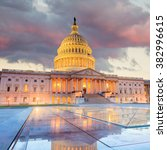 the united states capitol... | Shutterstock . vector #382996615