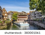 strasbourg  la petite france   | Shutterstock . vector #383001061