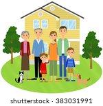 relationship of good family   Shutterstock . vector #383031991
