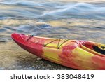 Bow Of Whitewater Kayak On A...