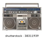 Vintage Stereo Radio Cassette...