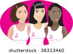 vector illustration for breast... | Shutterstock .eps vector #38313460