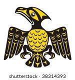 mythological image eagle vector | Shutterstock .eps vector #38314393
