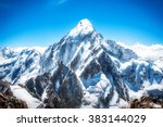 Mountain Peak. Everest....