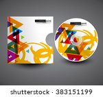 professional cd cover... | Shutterstock .eps vector #383151199
