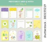 Boy Card Set. Cute Giraffe For...