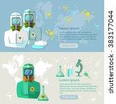 viruses and diseases biological ...   Shutterstock .eps vector #383177044