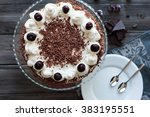 Black Forest Cake Decorated...