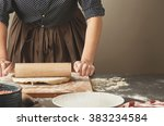 step by step process of making... | Shutterstock . vector #383234584