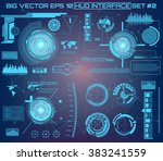 abstract future  concept vector ... | Shutterstock .eps vector #383241559