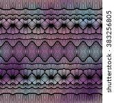 vector seamless geometric... | Shutterstock .eps vector #383256805