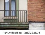 detail of a facade 69 | Shutterstock . vector #383263675