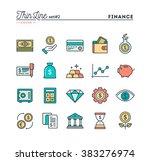 finance  money  banking ... | Shutterstock .eps vector #383276974