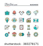 business  entrepreneurship ... | Shutterstock .eps vector #383278171